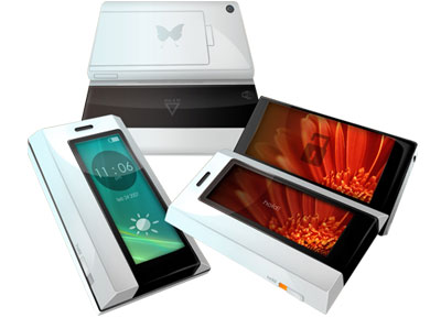 Butterfly phone