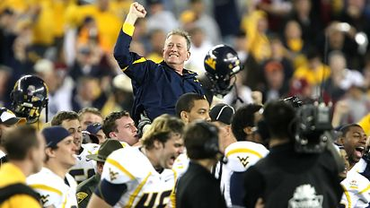 WVU wins the Fiesta Bowl 2008
