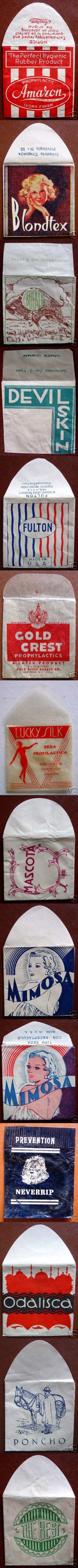 Vintage Comdoms