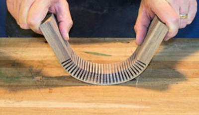 Kerf-Cut-Bending-Lead