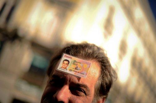 forehead card