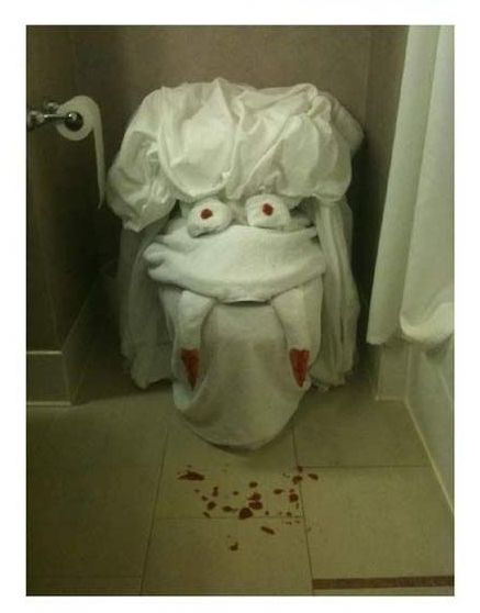 hotel maid scare 3
