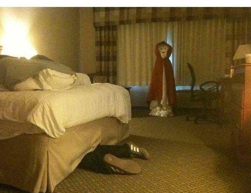 hotel maid scare 7