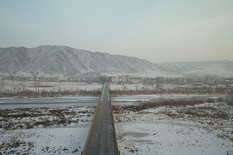Tumen-River-Bridge Heavily Guarded Locations