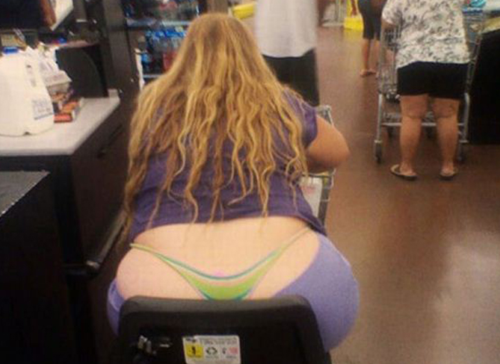 weirdest peope of walmart 041